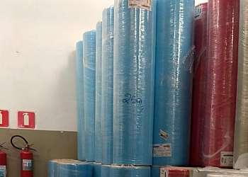 Bobinas de TNT para fabricação de sacolas