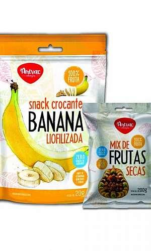 Embalagens para frutas secas