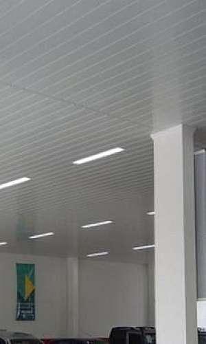 Forro de PVC branco preço