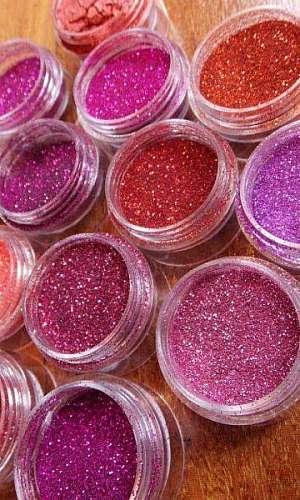 Glitter para estamparia