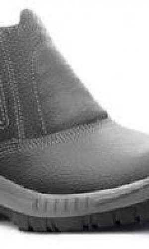 Sapato de segurança com biqueira de aço